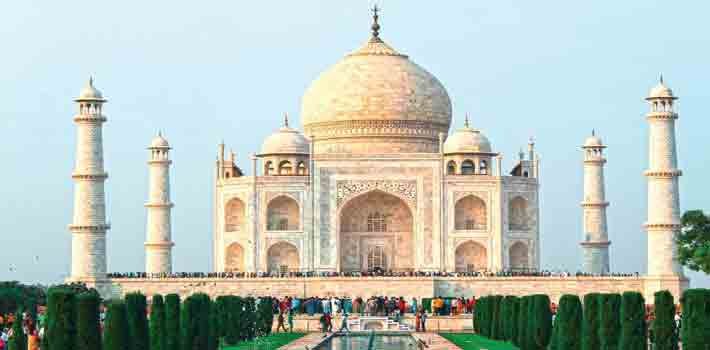 The Land Of Taj- Agra