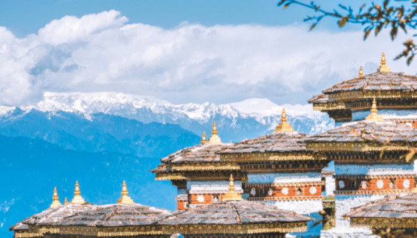 The Beautiful and peaceful landscapes of Bhutan are mesmerizing you. The sparkling water of its rivers and the rumbling trees in the wind will put you in calm.