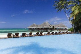 Maldives with Medhufushi island Resort water villa