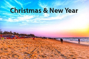 Christmas and New Year Goa package