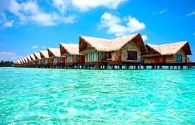 2 Nights Beach Villa+1 Night Sunrise Ocean Villa:  Adaaran Select Hudhuran Fushi Or Similar