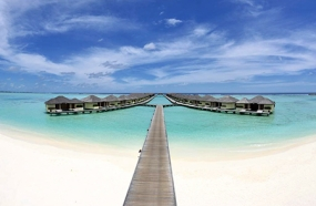 Paradise island Resort and Spa with 1N water villa