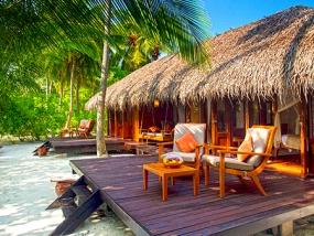 Maldives with Medhufushi island Resort water villa