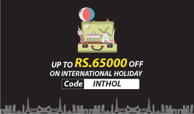 Book International Holiday Package Get  65,000 off. T&C Apply.