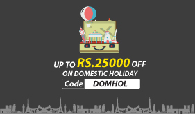 Book Domestic Holiday Package Get  25,000 off. T&C Apply.