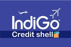 Redeem your Indigo credit shell.