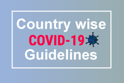 Country-wise travel advisory guidelines