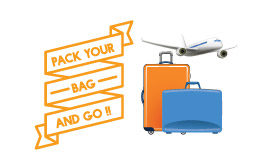 10% off on first package booking. Use code - BAGPACKGO